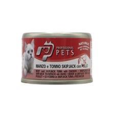 Mangime Gatto Professional Pets Manzo Tonno Pollo 70gr