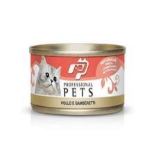 Mangime Gatto Professional Pets Pollo Gamberetti 70gr