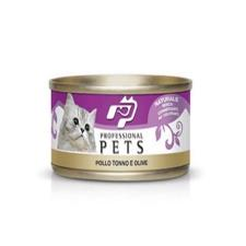 Mangime Gatto Professional Pets Pollo Tonno Olive 70gr