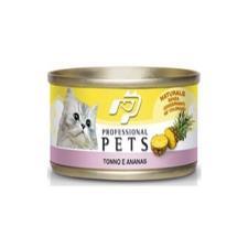 Mangime Gatto Professional Pets Tonno Ananas 70gr