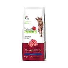 Mangime Gatto Trainer Natural Adult Manzo 1,5kg