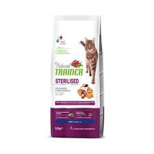 Mangime Gatto Trainer Natural AdultSterilised Salmone 1,5kg